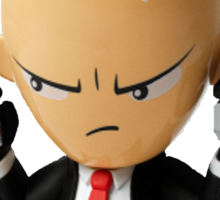 Hitman Eggsolution Sticker
