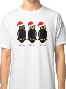 Christmas Owls Classic T-Shirt
