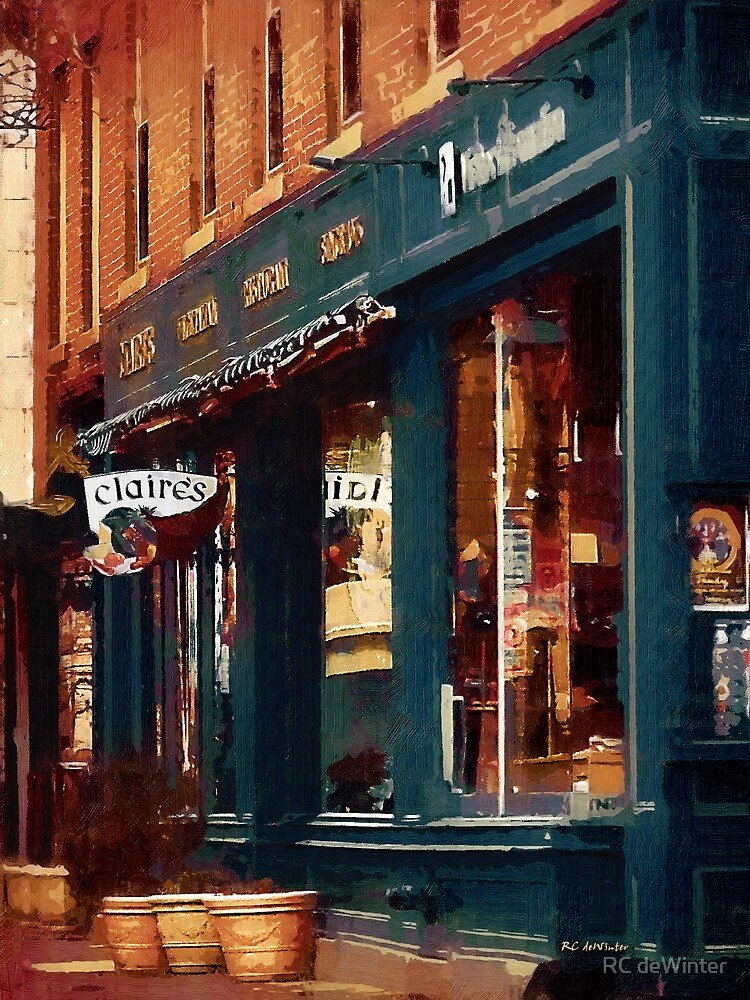 Claire's on College Street by RC deWinter