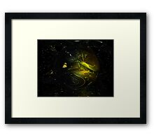 The Great Divide // Catharsis Framed Print