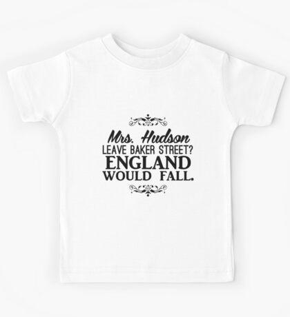 England Would Fall Kids Tee