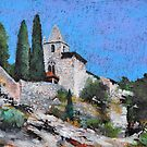 CHAPEL NOTRE DAME DE BEAUVOIR A MOUSTIERS SAINTE MARIE by aceshirt