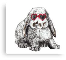 Lolita Bunny Canvas Print