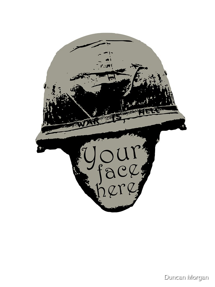 Your face here by Duncan Morgan