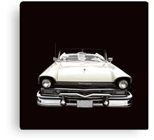 50s Ford Fairlane Convertible Canvas Print