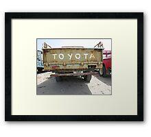 Toyota FJ Framed Print