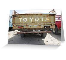 Toyota FJ Greeting Card
