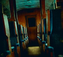 Ghost Train by Sharonroseart