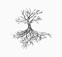 Tree Sketch with Roots Unisex T-Shirt