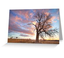 Country Morning High Greeting Card