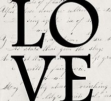 love - white edition by beverlylefevre