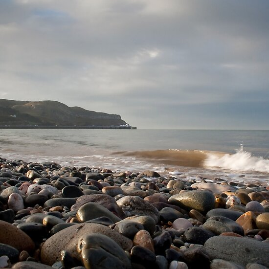 Llandudno Beach by RH-prints