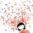 Heart Confetti by Holly Hatam