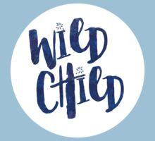 Wild Child Quote Kids Tee