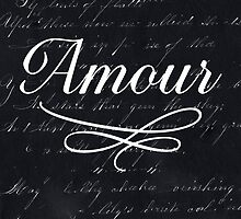 amour - black by beverlylefevre