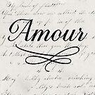 amour - white by beverlylefevre