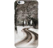 Winter Lane iPhone Case/Skin