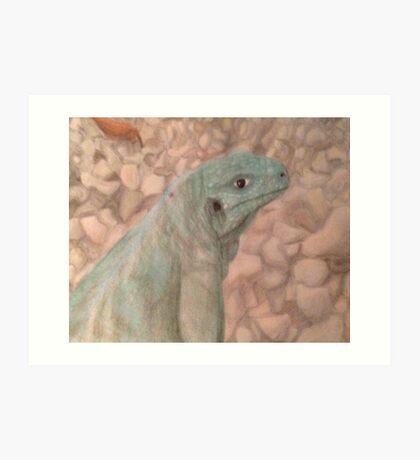 Sarcastic Scales Art Print