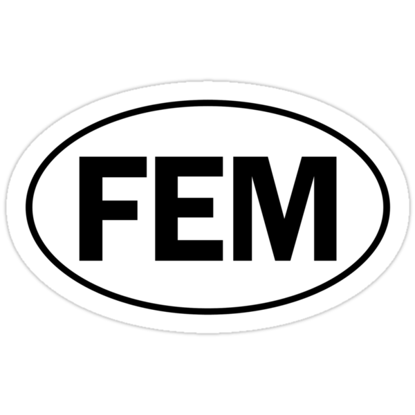 FEM - Oval Identity Sign by Ovals