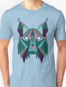 GEOMETRIC LYNX Unisex T-Shirt