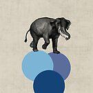 elephant balance by beverlylefevre