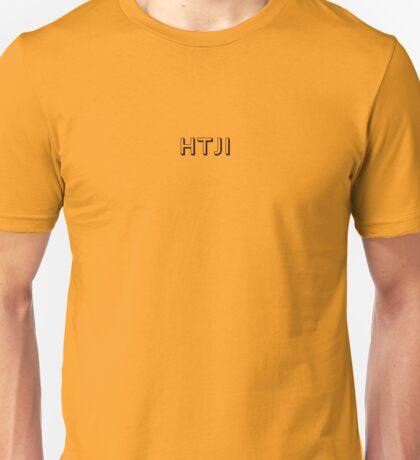 Hello To Jason Isaacs - Cryptic (white text) Unisex T-Shirt