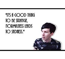 Phil Lester Quote Photographic Print