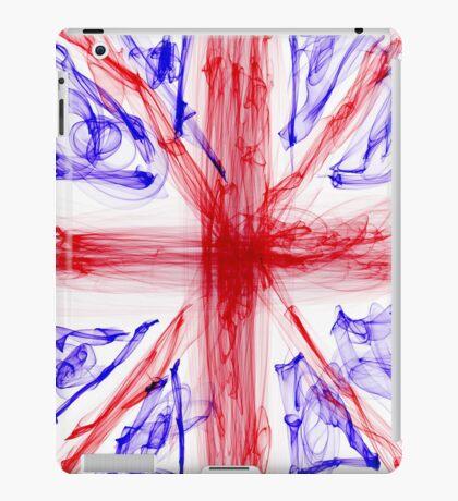 Union Jack Flag - Cool Wispy Effect iPad Case/Skin