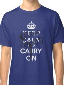 Keep Calm Bad Wolf Classic T-Shirt