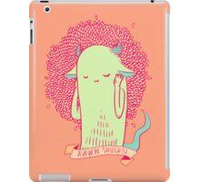 [bashful monster] iPad Case/Skin
