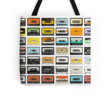 awesome old cassette collection Tote Bag