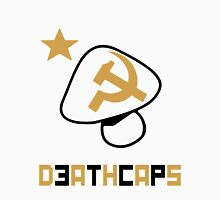 DeathCaps Tribe Alternate colors: Black and red Unisex T-Shirt