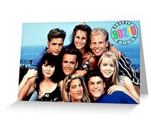 90210-cast Greeting Card