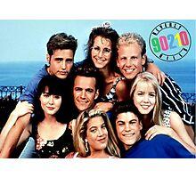 90210-cast Photographic Print