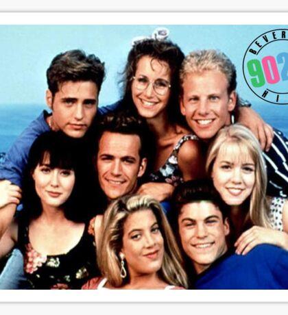 90210-cast Sticker