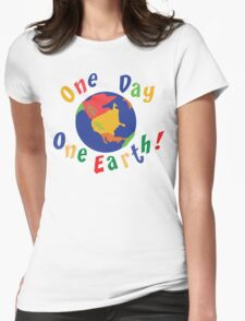 """Earth Day """"One Day One Earth"""" T-Shirt"""