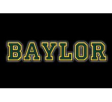 Baylor for Dark Backgrounds Photographic Print