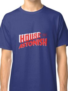 House to Astonish – Red Logo Classic T-Shirt