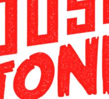House to Astonish – Red Logo Sticker