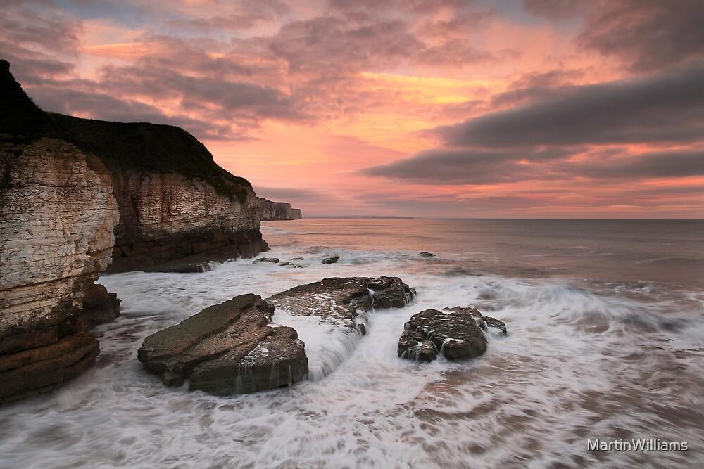 Thornwick Bay Sunrise 2 by MartinWilliams