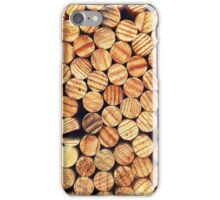 WOODEN CIRCLES iPhone Case/Skin