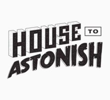 House to Astonish – Black logo by HouseToAstonish