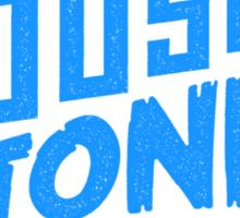 House to Astonish – Blue logo Sticker