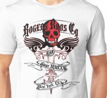 usa warriors motorcycle by rogers bros Unisex T-Shirt