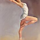 Irina, portrait of a ballerina by Margaret Merry