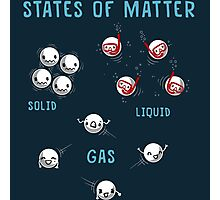 States of Matter Photographic Print