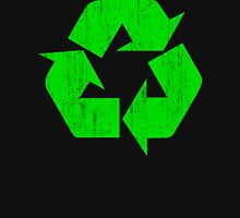 Earth Day Grunge Recycle Symbol T-Shirt
