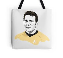 Star Trek James T. Kirk (William Shatner) illustration Tote Bag