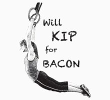 Will KIP for BACON One Piece - Long Sleeve