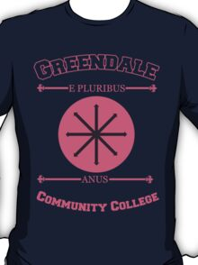 Greendale Community College E Pluribus Anus T-Shirt
